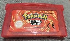Pokemon FireRed fire red Nintendo Game Boy Advance SP GBA Cartridge gameboy gbc