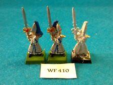 Warhammer - High Elves - Sword Masters of Hoeth x3 - Metal WF410