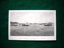 La flotta Giapponese al blocco di Wei-ho-Wei nel 1895, guerra cino-giapponese