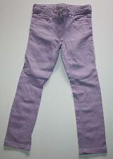 New NEXT UK Lavender Purple Skinny Pants Size 5-6 116cm NWOT Adjustable Waist