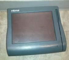 Micros Workstation 4 400614 001 Touch Screen Pos System Unit Parts Or Repair