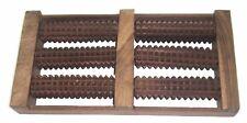 """Wooden Foot Massager / Krupa Chakra 6 Roller 12.5"""" Relax Relief Massager Spa"""