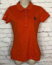 NWT San Francisco Giants Antigua Polo Shirt Mango Orange Button Up Collar M
