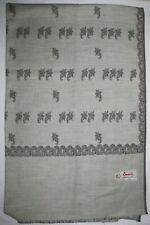 Taupe  and Brown Jamawar Shawl-scarf