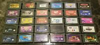 (30) Lot Gameboy Advance Games - Tested No Dupes!