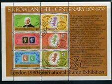 St Vincent 1979 100th Anniversary of the Death of Sir Rowland Hill M/S