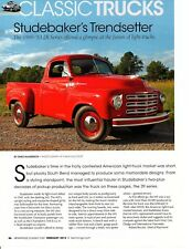 1949-1953 STUDEBAKER 2R SERIES TRUCK ~ NICE 3-PAGE ARTICLE / AD