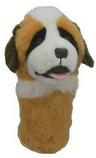 St Bernard Dog Golf Animal Headcover Driver Head Cover Daphnes Golf Club Cover