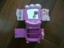 Polly Pockets purple bathroom sink vanity medicine cabinet mini toy furniture