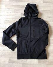 Barbour International Turbo Hoodie Sweatshirt Top Black Mens Small £130