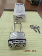 "PADLOCK MASTER MAGNUM M1KALJ 2-1/2"" LONG SHACKLE (5 PC LOT ALL KEYED ALIKE)"