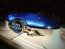 Budweiser Bud Pool Table Beer Light Sign & Miller Lite Hamms Pabst Coors Coaster