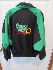 Quaker State NASCAR Racing Jacket Made USA Size adult Large Stock Car Race Team