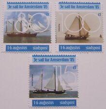 Stadspost Amsterdam - Serie 3e Sail for Amsterdam 1985