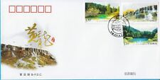 China 2009-18 Mini S/S  Huanglong Scenic Area  Heritage 黃龍 FDC B