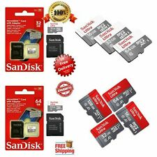 Sandisk 32GB 64GB Ultra Micro SD SDHC/SDXC TF Memory Card 80MBs UHSI Class 10