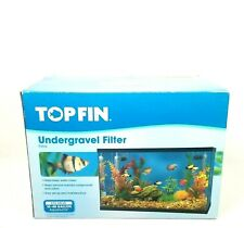 Top Fin Under Gravel Filter 10/40 Gallon New With Defects Open Box Carbon Cartr.