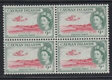 CAYMAN ISLANDS Georgetown Harbour Mint block of 4