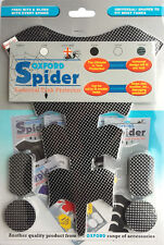 Oxford Spider OF832 Moto Coussinet Reservoir Universel Protection Spider Carbone
