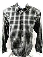 Eddie Bauer Long Sleeve Shirt Plaid Check Flannel Mens M