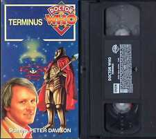 Doctor Who VHS Terminus Peter Davidson (fifth doctor)