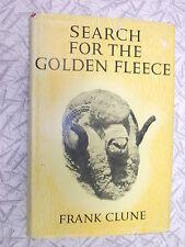 Search fior the Golden Fleece by Frank Clune 1965 1st Ed HC/DJ Peppin Merino