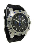 Bulova Marine Star 98B165 Men's Round Black Chronograph Date Analog Watch