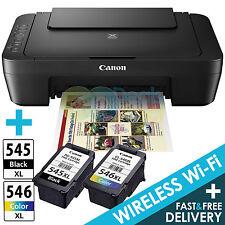 Canon PIXMA MG3050 All-In-One Colour Wireless WiFi Printer + XL Canon Ink Bundle