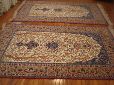 PAIR OF AUTHENTIC SEIRAFIAN PERSIAN HANDMADE RUGS 8' x 5'