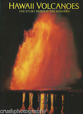 Hawaii Volcanoes : The Story Behind the Scenery by Glen Kaye 1990 Paperback Book