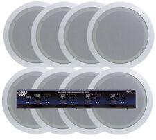 Pyle KTHSP85P 4 In-Ceiling Speaker System  w/Speaker Selector & Volume Control