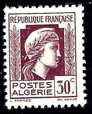 VARIETES Algerie N°210 (point  blanc derriere la tete)- marianne-NOUVEAUTE !