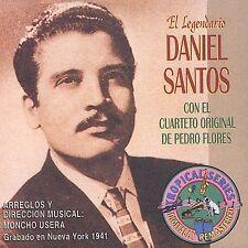 El Legendario Daniel Santos con Pedro Flores (CD, Jul-2003, Sony BMG) COMO NUEVO