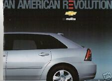 Mint Condition 2005 Chevrolet MALIBU Brochure '05 chevy