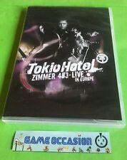TOKIO HOTEL ZIMMER 483- LIVE IN EUROPE DEUTSH IMPORT VO   DVD