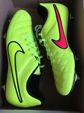 Da Uomo Nike Tiempo Rio II SG Uomo Scarpe Da Calcio Terreno Morbido UK 7 US 8 EUR 41