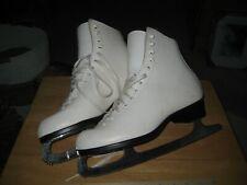 Riedell White Size 9 Figure Skates