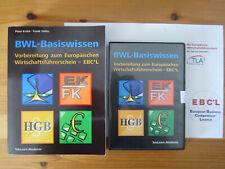 Buch + CD, BWL-Basiswissen ? EBCL Wirtschaftsführerschein TeleLearn Akademie