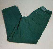 Levis Silvertab Loose 90s Skater Streetwear Green Denim Jeans Men 31X34 USA Made