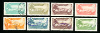 Lebanon Stamps Set of 8 Revenues Complete Set