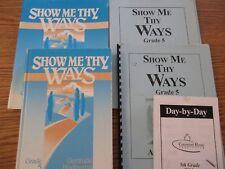 Covenant Home Bible Curriculum-Show Me Thy Ways set (grade 5)
