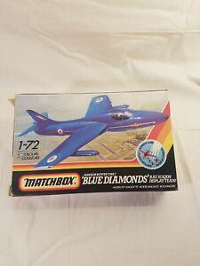 Matchbox Hawker Hunter T. Mk7 Blue Diamonds 1/72 scale