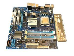 GIGABYTE GA-EG41MF-US2H REV 1.3 Intel HDMI OPTICAL SOCKET 775 Motherboard