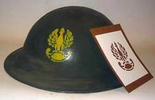 Polish Helmet Stencil Template Polski Kask Wzornik szablon not Decal WWII WW2