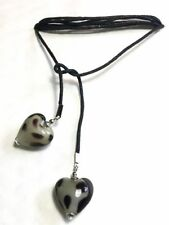 Handmade Heart Glass Costume Necklaces & Pendants