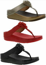 FitFlop 100% Leather Casual Sandals & Beach Shoes for Women