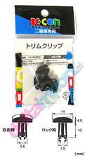 Rivetto KCON Kitaco carena cupolino 6 mm (PUSH RIVET) HONDA YAMAHA KAWA Ducati
