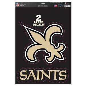 New Orleans Saints Large Decal Set
