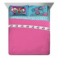 NEW MGA Lol Surprise Born Rockers Full Sheet Set, 4 Piece Total FREE2DAYSHIP
