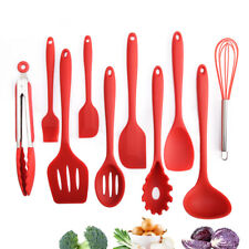 10Pcs/set Silicone Baking Cookware Set Non-stick Kitchen Utensils Cooking Tools